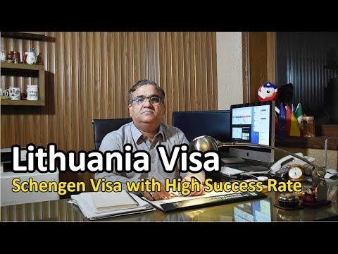 Lithuania Visit Visa / Tourist Visa  - Schengen Visa - High Success Ratio