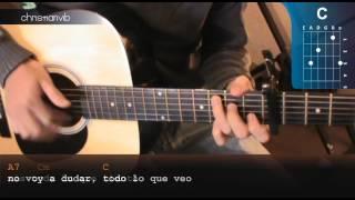 """Cómo tocar """"Hacer un Puente"""" de La Franela en Guitarra (HD) Tutorial - Christianvib"""