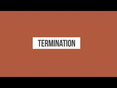Terminating Obligations