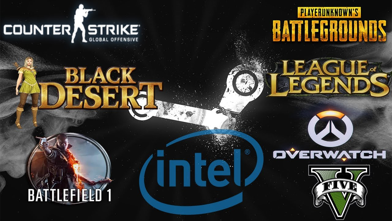 Intel HD Graphics 630 IN 7 GAMES