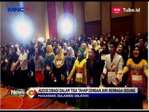 Audisi Perdana KDI 2018 di Makassar Diikuti Ratusan Peserta - LIP 06/05