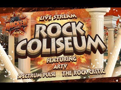 Rock Coliseum (feat. ARTV, Spectrum Pulse, The Rock Critic) | Live Stream | Rocked