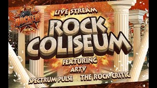 Baixar Rock Coliseum (feat. ARTV, Spectrum Pulse, The Rock Critic) | Live Stream | Rocked