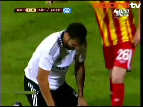 Beşiktaş - Alania 3-0  Macin Özeti (UEFA AVRUPA LIGI) 18.08.2011