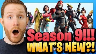 What's New in Fortnite Season 9?! Trailer and Patch Notes Reaction!