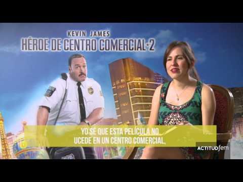 Película entrevista Heroe en el centro comercial