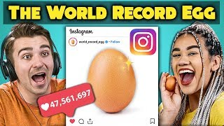 College Kids React To World Record Egg Vs. Kylie Jenner (Most Liked Post On Instagram)