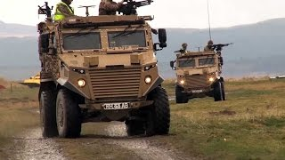 Foxhound: Built For Afghanistan, Ready For Anything | Forces TV
