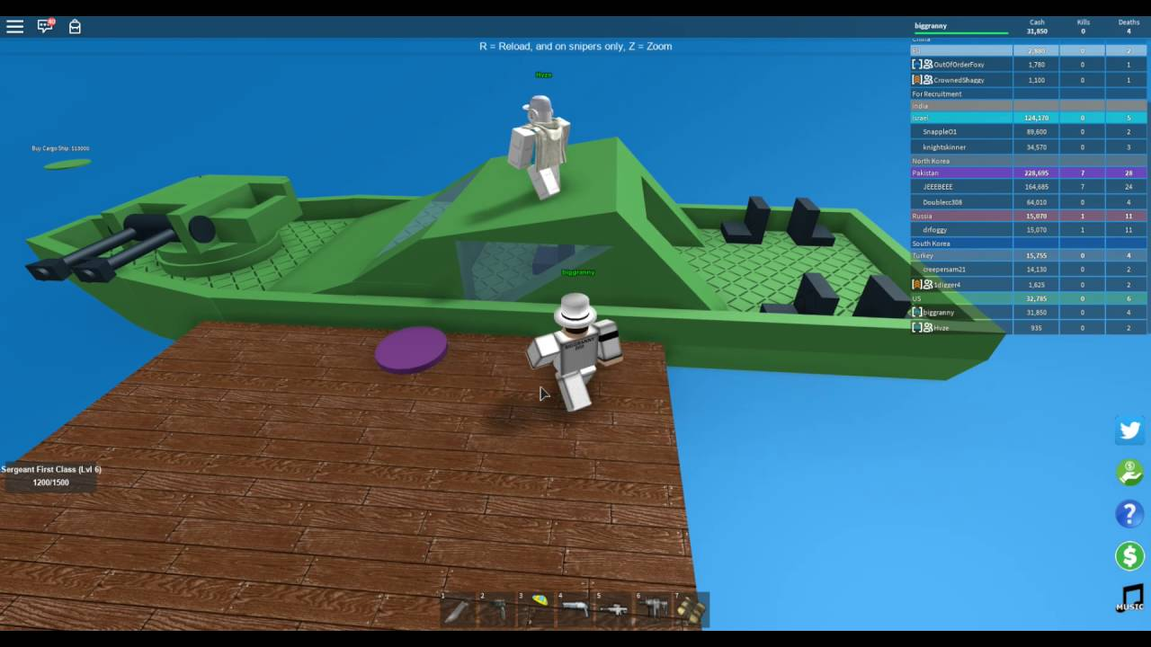 Roblox 2 Player Military Tycoon Lets Play Ep 1 Co Op Bombs