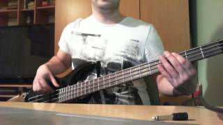 Bullet For My Valentine - Bittersweet memories (bass cover)