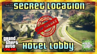 GTA 5 Online SECRET LOCATION | HOTEL LOBBY | Geheimer Ort HD