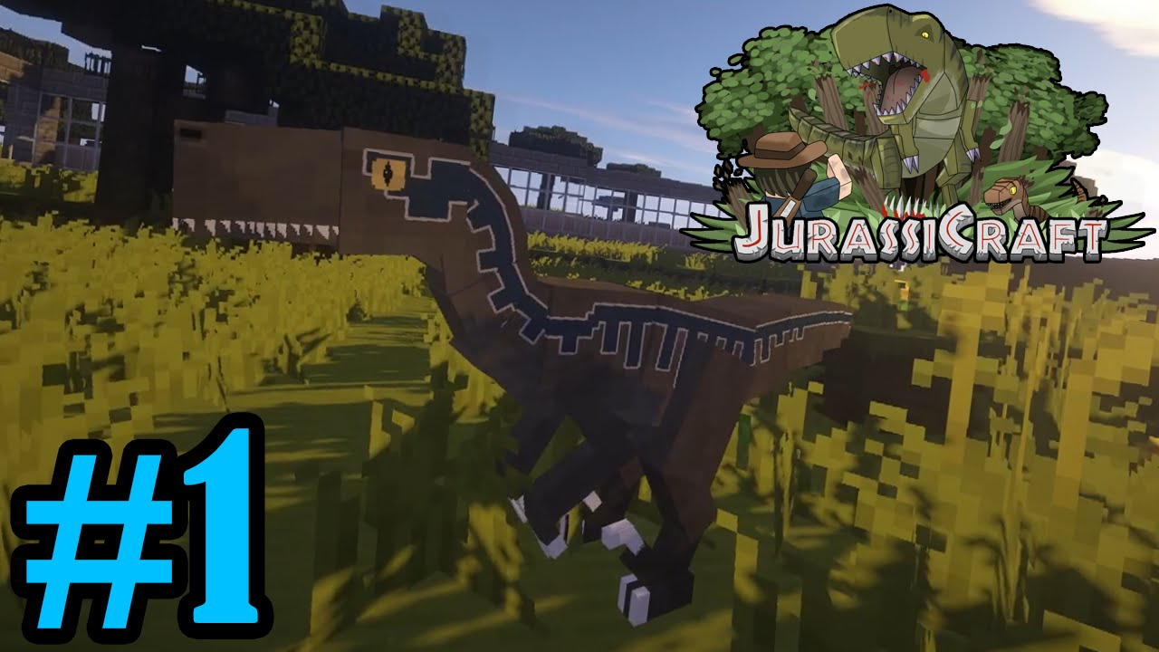 How To Tame A Velociraptor In Jurassic Craft