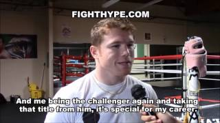 CANELO ALVAREZ ADMITS LIAM SMITH LIKELY LAST FIGHT AT 154; NOT UNDERESTIMATING & EXPECTS TOUGH FIGHT