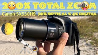 ? My Favorite Best Camera by Canon with 200x Total Zoom Review | Zoom into Moon, Kite, Birds etc.