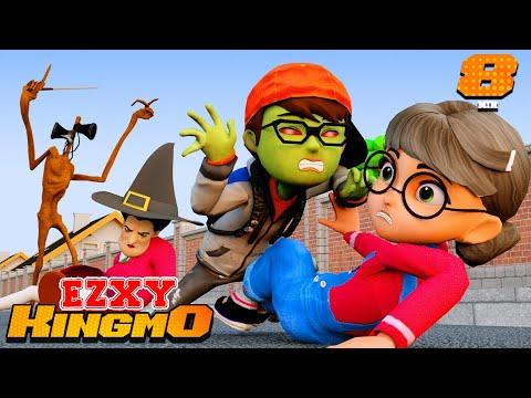 Nick Love Tani - (Part 3) I am Zombie, Magic Wand MissT Scary Teacher 3D Family Story  