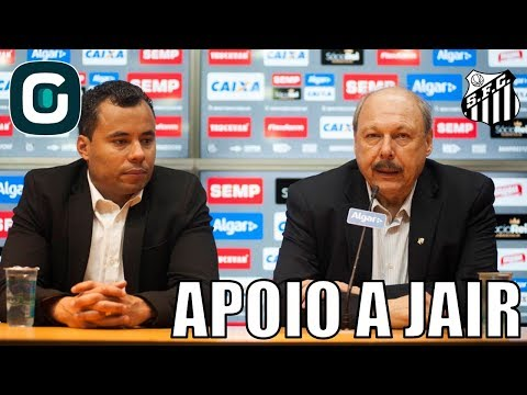 Presidente Do Santos Defende Jair E Fala De Rodygo- Gazeta Esportiva (23/05/18)