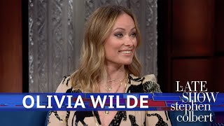 Olivia Wilde's FIve-Year-Old Kept Yelling 'Cut!' On Set