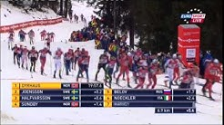Cross Country Skiing (Tour de Ski) Pursuit 15 Km Classic Men Oberstdorf 04.01.2015