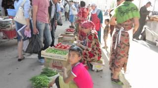 Bazaar in Samarkand, Uzbekistan