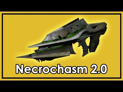Destiny Rise of Iron: How to Get Husk of the Pit & Necrochasm 2.0 - Exotic Raid Weapon
