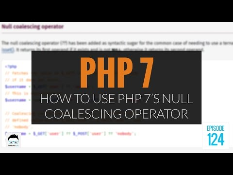 PHP 7's Null Coalescing Operator: How And Why To Use It