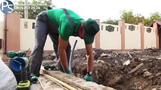 видео автоматический полив газона