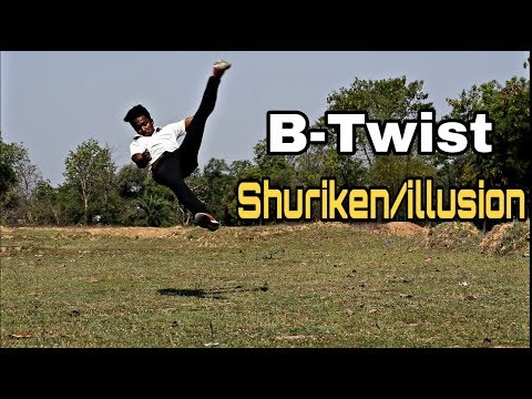 B-Twist Shuriken/Illusion
