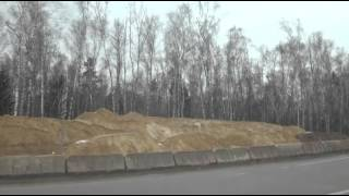 Домодедово, маршрутка 52(участок станция Взлетная - Аэропорт Домодедово., 2014-04-05T10:39:44.000Z)