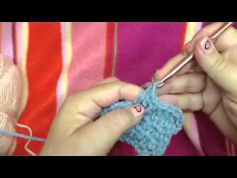 Verlengd Stokje Haken Extended Double Crochet Youtube
