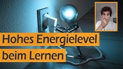 100% Energielevel bei langem Lernen aufrecht erhalten | Leo Eckl