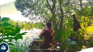 Отдых и рыбалка на пруду. Отлично половил окуня на поплавок. Ну а где же мой Карась?