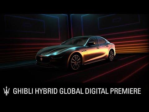 Maserati Ghibli Hybrid Global Digital Premiere