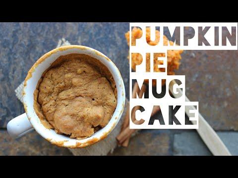 Healthy Mug Cake Recipe | How To Make A Low Fat Pumpkin Pie Spice Mug Cake