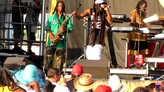 Steel Pulse - Roller Skates (Life Without Music) @ Jazz Fest 2012