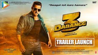 Dabangg 3 Trailer Launch | Salman Khan | Sonakshi Sinha | Prabhu Deva | UNCUT