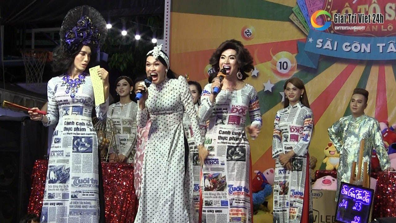Lô tô show: Cả đoàn Sài Gòn Tân Thời cùng kêu lô tô bằng TIẾNG ANH cực chất