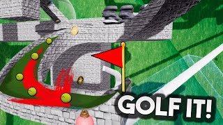 UN MAPA MUY LOCO Y UN FINAL AJUSTADO! Golf It!