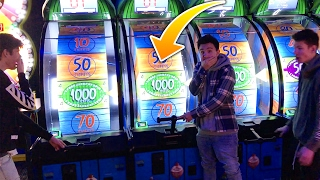 WINNING MOST RARE TRIPLE MEGA JACKPOT! (ARCADE RECORD) | David Vlas