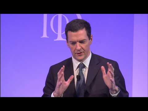 George Osborne, Chancellor of the Exchequer, speaking at the IoD Annual Convention 2014