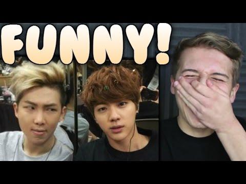 Namjin FUNNY Moments Reaction (Namjoon / Rap Monster and Jin) | BTS