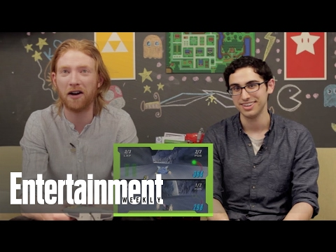 "Q & Play: Domhnall Gleeson plays ""Star Wars Episode I: Racer"""