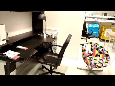 ИКЕА ОБЗОР офисная мебель/столы/кресла/тумбы