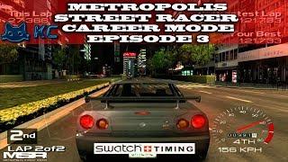 Gaming :Metropolis Street Racer (Sega Dreamcast) 🚗 100% Career Mode Episode 3