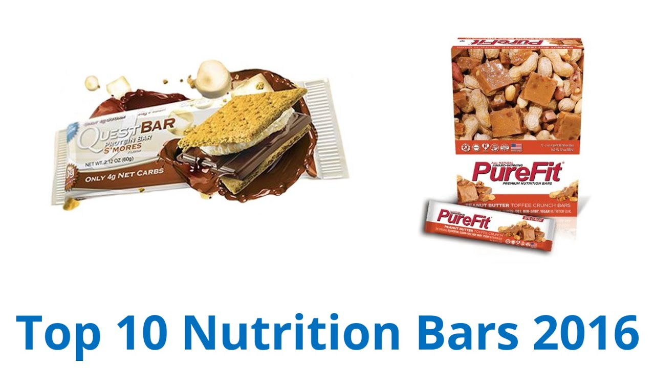 Delicieux 10 Best Nutrition Bars 2016