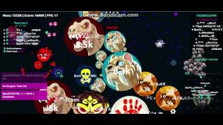 AGARIO TURKEY EXPERIMENTAL DOUBLESPLITS POPSPLIT RED AND SHAH CLAN