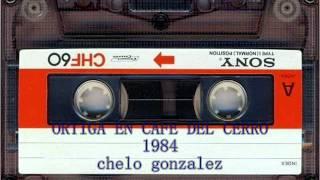 ORTIGA CONCIERTO CAFE DEL CERRO 1984