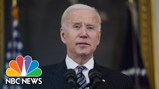 Biden Delivers Remarks On The American Jobs Plan | NBC News