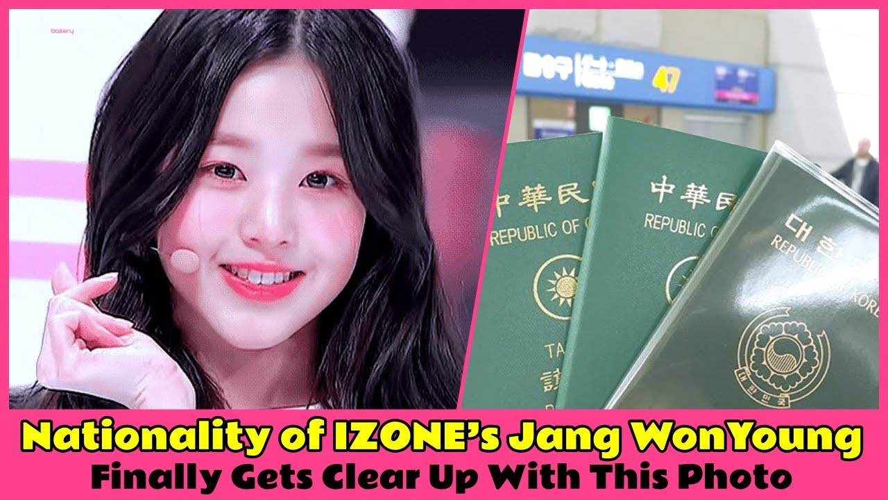 Nationality of IZONE's Jang WonYoung Finally Gets Clear Up With This Photo