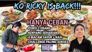 CHALLENGE MASAK CEBAN PALING KEREN! FT RICSNT