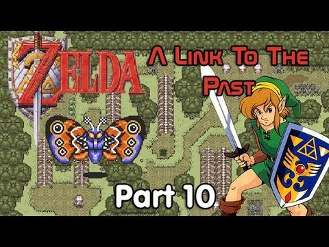 Let's Play Zelda: A Link to the Past - #10. Like a Moth to a Fire Rod
